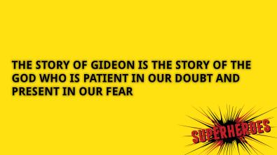 STORY OF GIDEON